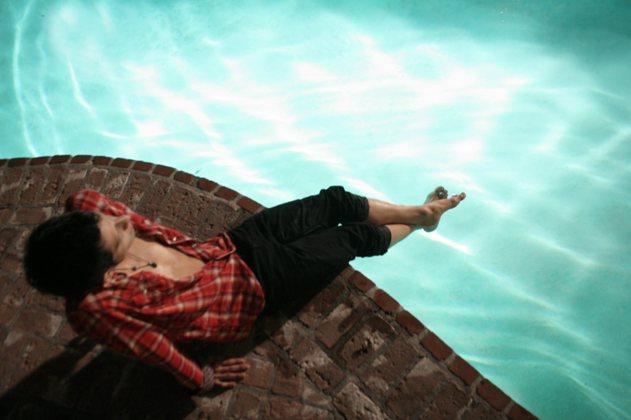 Rafael by pool